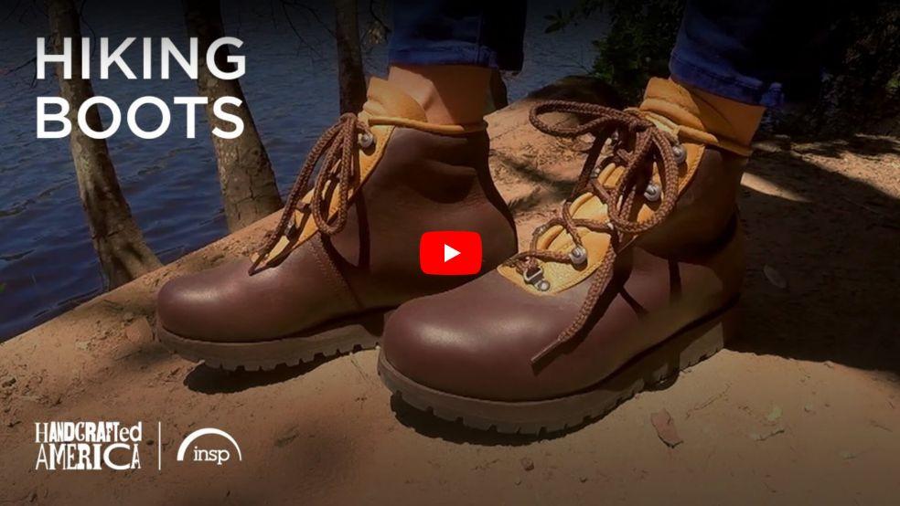 Leahy Custom Hiking Boots, Handmade